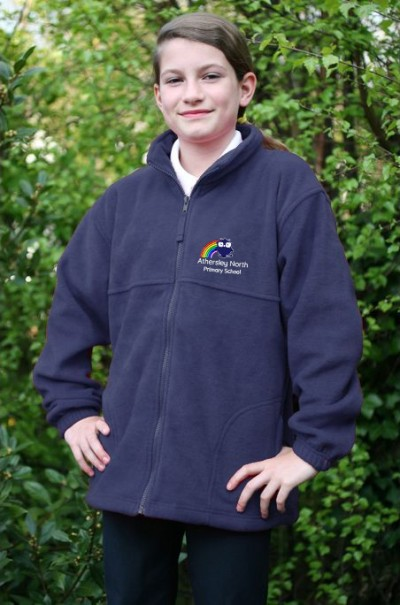 athersley north navy fleece