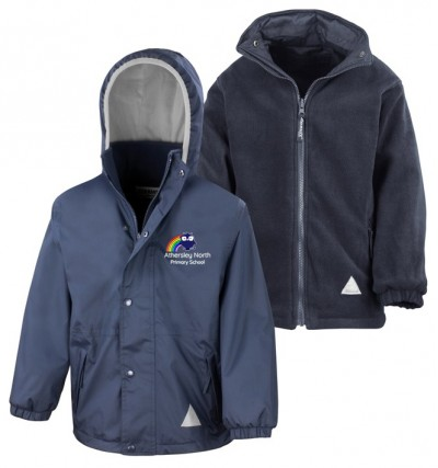 athersley north navy waterproof jacket