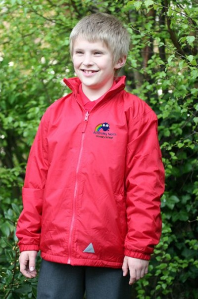 athersley north red reversible jacket