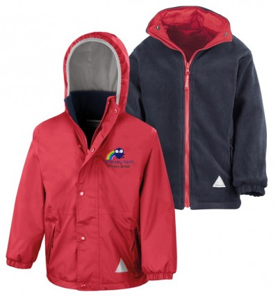 athersley north red waterproof jacket