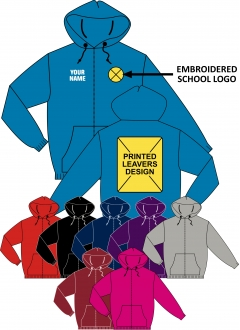 birkwood leavers zip hoody