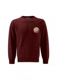 darton primary burgundy sweatshirt