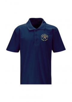 gawber primary navy polo