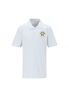 gawber primary white polo