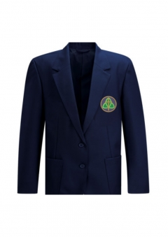 "holy trinity girls blazer (chest sizes 38"" to 52"")"