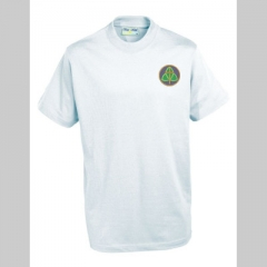 holy trinity white pe t-shirt