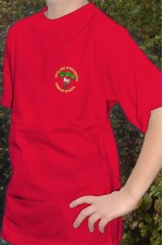 springwood red t-shirt
