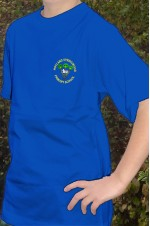 springwood blue t-shirt