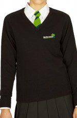 netherwood unisex v neck jumper