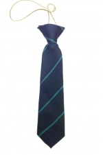 queens road elasticated tie